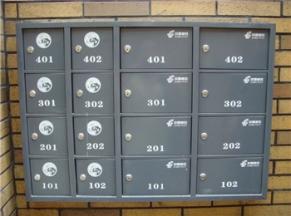 挂壁式邮政信报箱